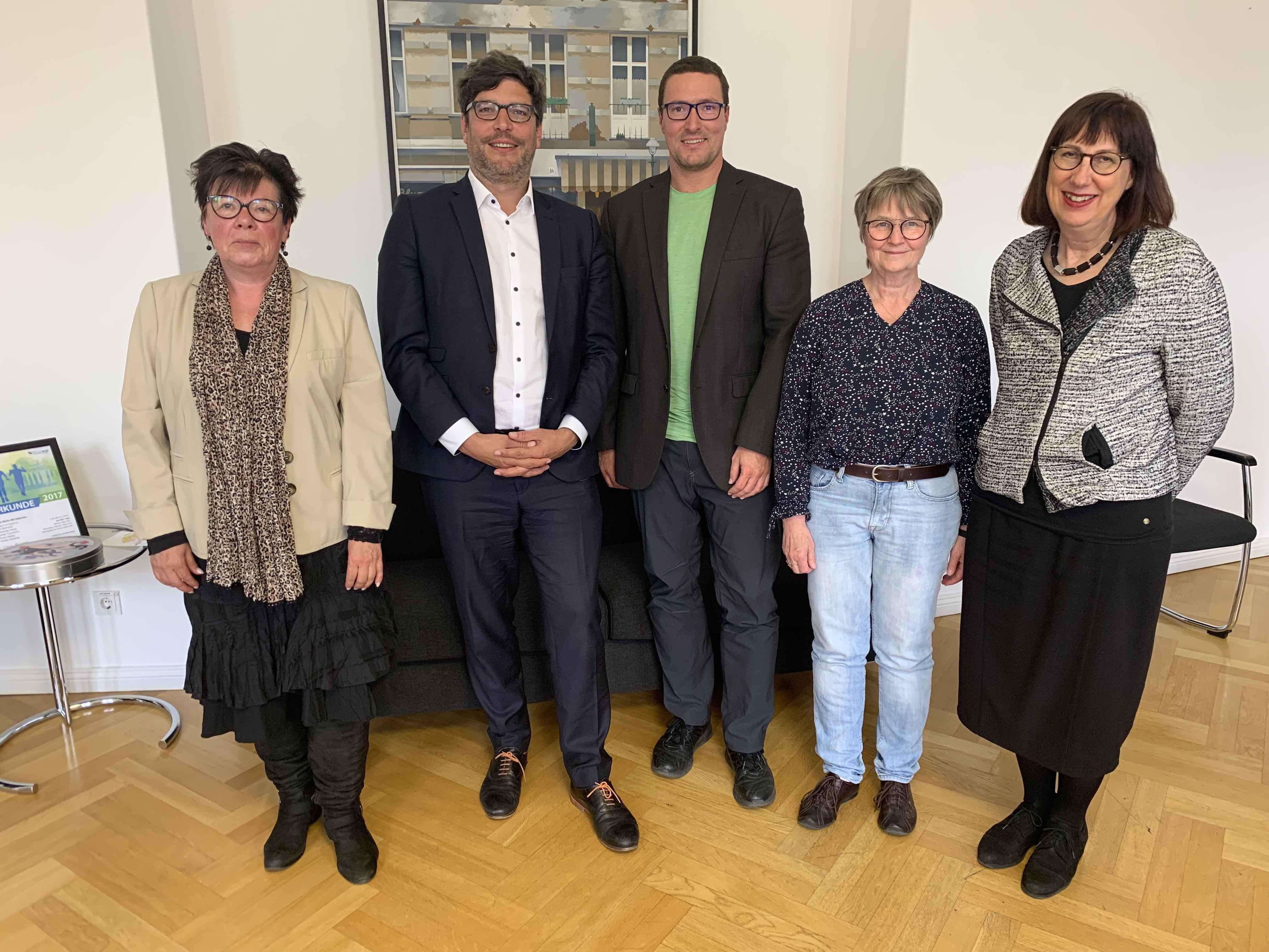 Mai 2019: Landesverband zu Gast bei Berliner Justizsenator – Dr. Dirk Behrendt