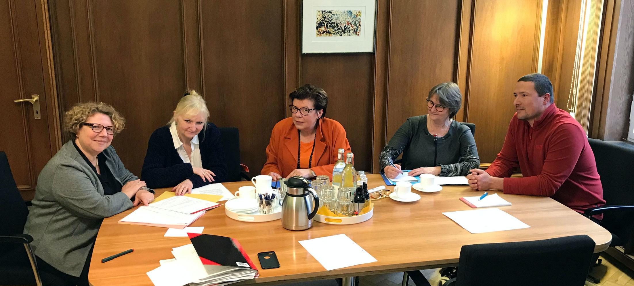 Im Gespräch mit der Berliner Justizstaatssekretärin am 06.03.2020